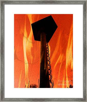Framed Print featuring the photograph Elastic Concrete Part Two by Sir Josef - Social Critic - ART