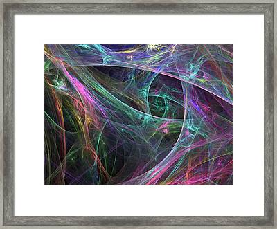 Elasticity-01 Framed Print by RochVanh