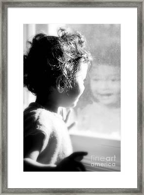 Elation Framed Print by Floyd Menezes