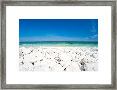 Elba - Capo Bianco  Framed Print