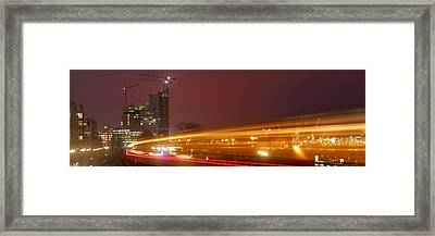 Elbe Philharmonic Hall Framed Print