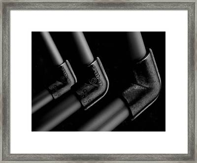 Elbows Framed Print