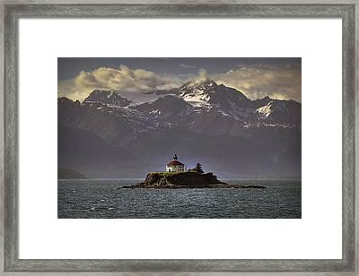 Eldred Rock Lighthouse Alaska Framed Print