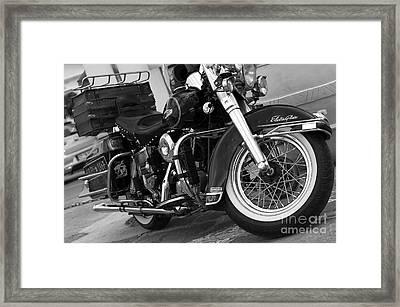 Electra Glide Classic Framed Print
