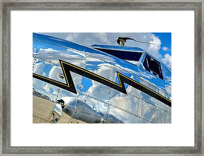 Electra Reflections Framed Print