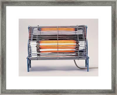 Electric Bar Heater Framed Print by Dorling Kindersley/uig