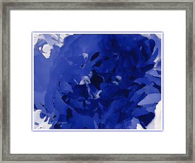 Electric Blue Beauty Framed Print by Sonali Gangane
