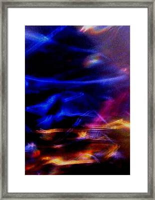 Framed Print featuring the photograph Electric Chaos by Mike Breau