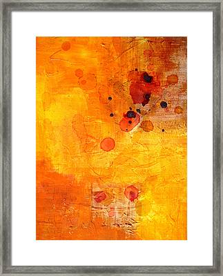 Electric Chaos Framed Print by Nancy Merkle