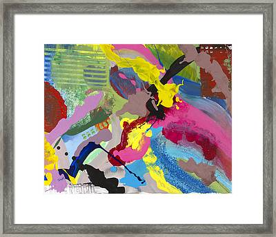 Electric Circus Framed Print by Robert Horvath