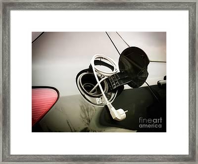 Electric Fuel Framed Print