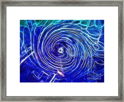 Electric Glass Light 4 Framed Print