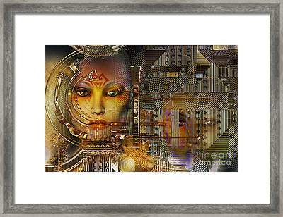 Electric Guitar Framed Print by Shadowlea Is
