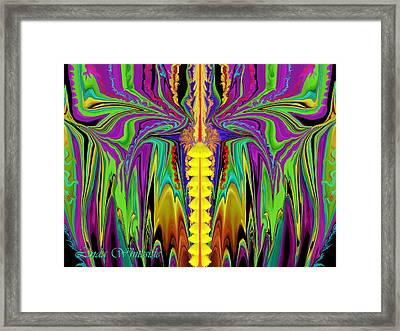 Electric Metamorphorsis Framed Print