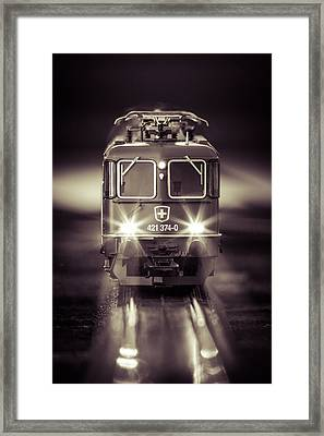 Electric Framed Print by Neah Falco