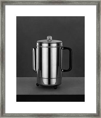 Electric Percolator Framed Print by Martinus Andersen