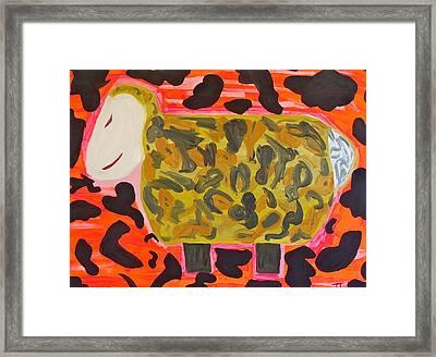 Electric Sheep Dip Framed Print by Troy Thomas