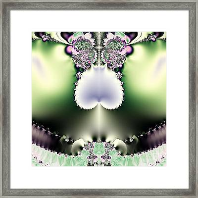 Electric Vagina Framed Print by Maurice King