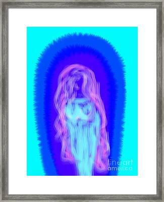 Electric Virgin Framed Print by James Eye