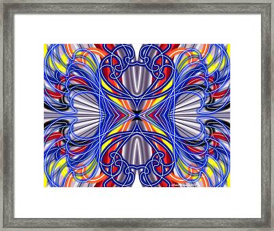Electric Wave Framed Print by Brian Johnson