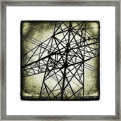 Electric World Framed Print
