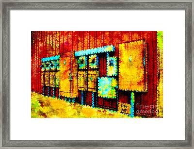 Electrical Boxes IIi Framed Print