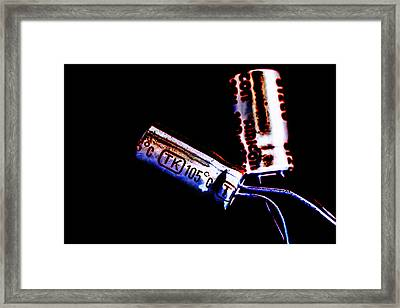 Electrical Components  Framed Print by Tommytechno Sweden