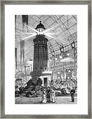 Electrical Exhibition Framed Print