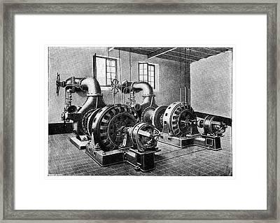 Electrical Generators Framed Print