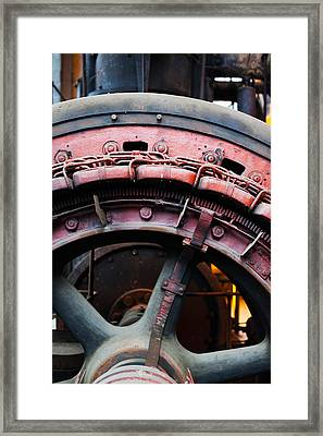 Electrical Power Room At Puits Couriot Framed Print by Panoramic Images