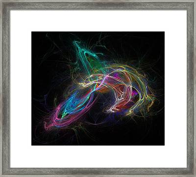 Electrical Prism Framed Print by Solomon Barroa