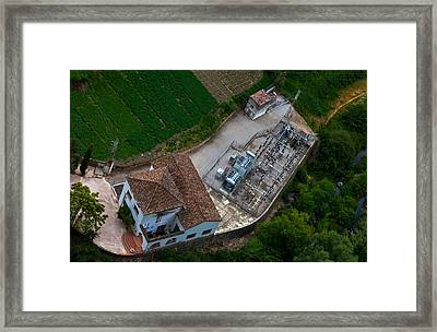 Electrical Sub-station Beklow Ronda Framed Print by Panoramic Images