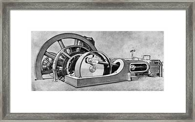 Electricity Generator Framed Print by Granger