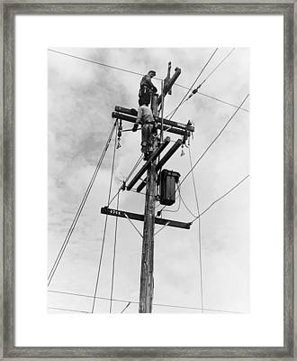 Electrification, 1938 Framed Print by Granger