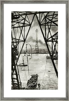 Electrification Of England Framed Print by Cci Archives