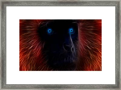 Electrified Framed Print by Aged Pixel