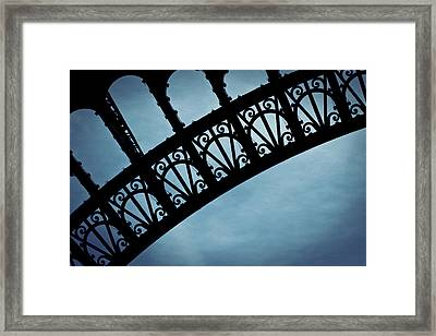 Electrify - Eiffel Tower Framed Print by Melanie Alexandra Price