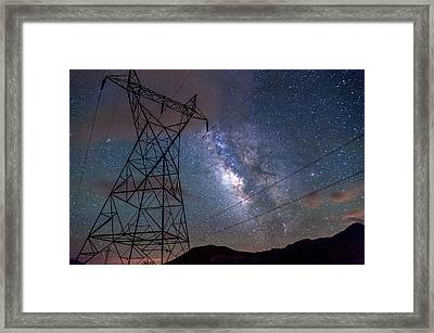 Electrifying Framed Print by Cat Connor