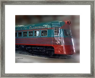 Electro Liner Framed Print by Thomas Woolworth