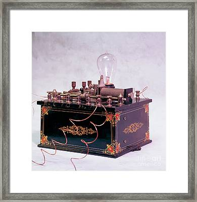 Electroconvulsive Therapy Framed Print