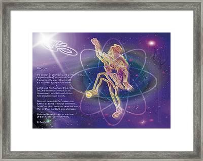 Electron Framed Print by Shiva Vangara