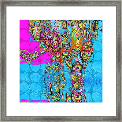 Elefantos - Av03-ps01 Framed Print by Variance Collections