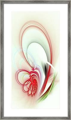 Elegance Framed Print by Anastasiya Malakhova