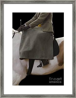 Elegance Framed Print by Linsey Williams