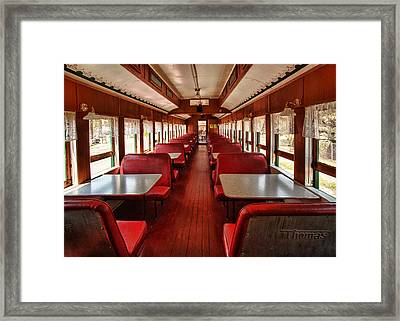 Elegance Past Framed Print by Mary Jo Allen
