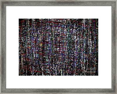 Elegance With Cannibalism Framed Print by J Burns