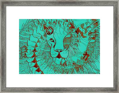 Elegance With Continuation Framed Print by Xandria Saulnier