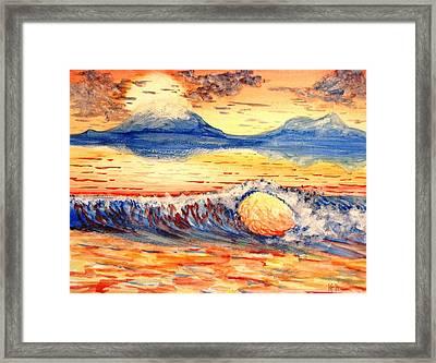 Elegant Eclipse II Framed Print