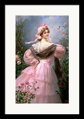 Tiered Skirt Framed Prints