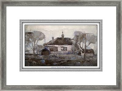 Elegiac Landscape Ell2 Framed Print by Pemaro